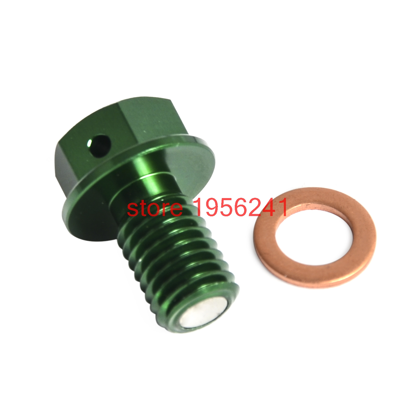 Motorcycle Magnetic Oil Drain Bolt Plugs for Kawasaki KX60 KX65 KX80 KX85 KX100 KX125 KX250 KX250F KX450F KX500