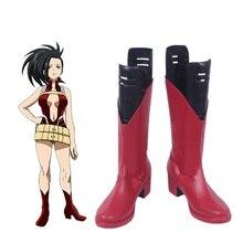 My Hero Academia Boku no hero academia YAOYOROZU MOMO Cosplay Shoes Boots Custom Made