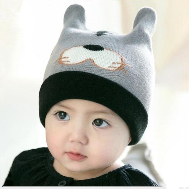 Baby Winter Hut Mädchen Jungen Hüte Kinder Tiger Kappe Schwarz