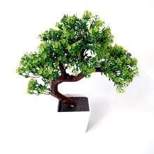 Artificial potted plants Interior decoration False pine Plant Home wedding artificial