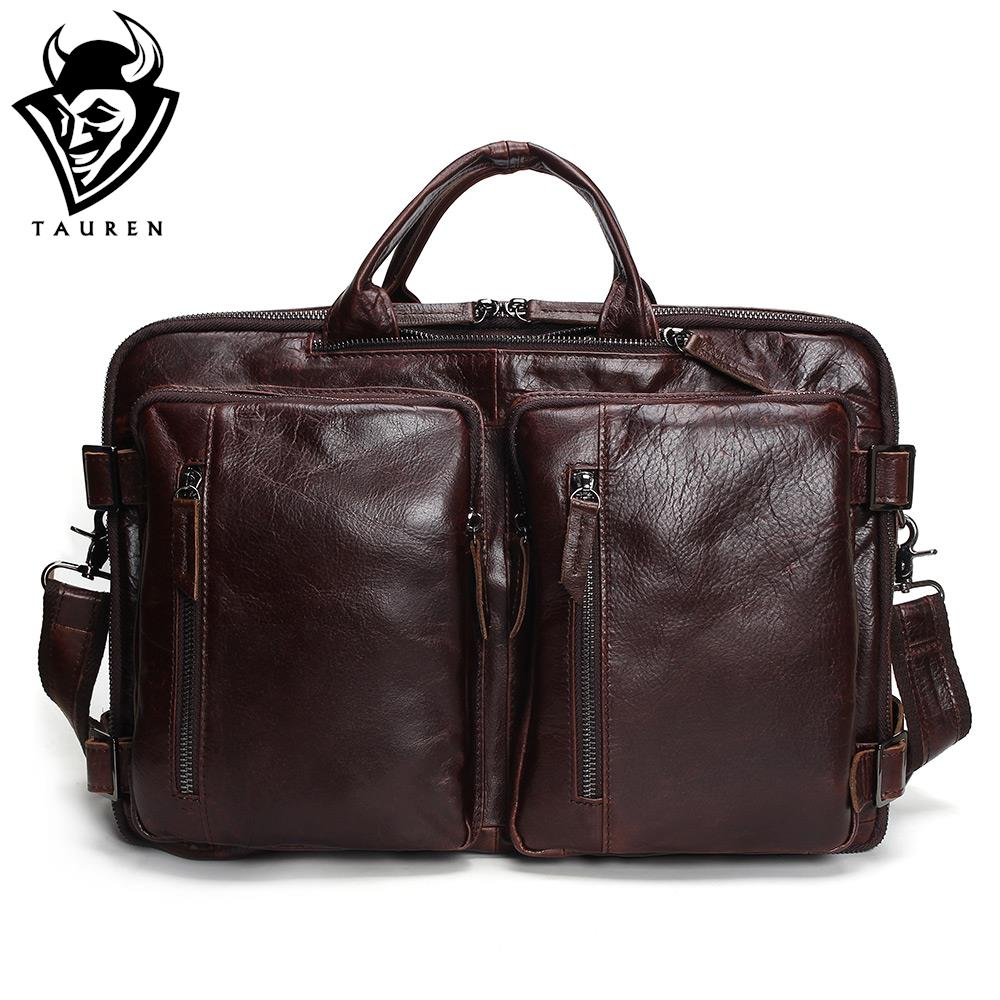 Tauren Genuine Leather Bag Men Messenger Bags Handbag Briescase Business Men Shoulder Bag High Quality 2018 Crossbody Bag Men jason tutu promotions men shoulder bags leisure travel black small bag crossbody messenger bag men leather high quality b206