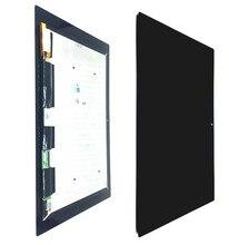 Получить скидку TIANQIDA подлинный черный ЖК-дисплей Экран Дисплей для Xperia Tablet Z2 SGP511 SGP512 SGP521 SGP541 Сенсорный экран планшета Ассамблеи