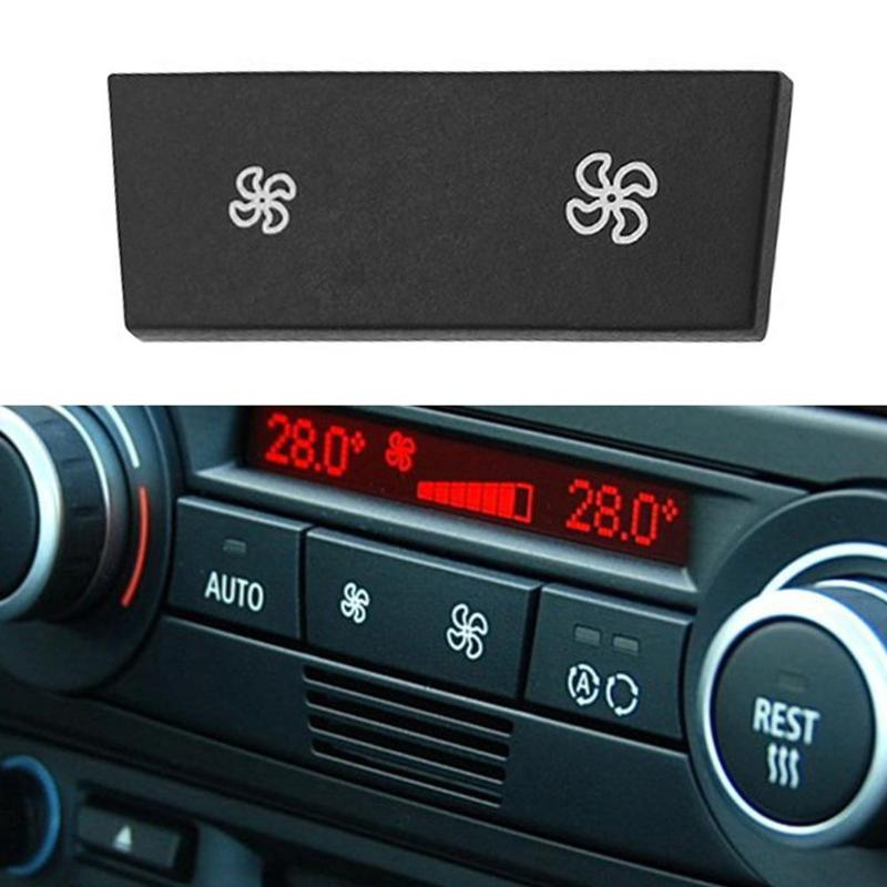 Climate A//C Control Panel Fan Speed Button for BMW 1//3 Series E90 X1 E84 E88 E93