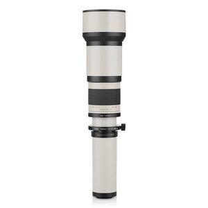 Image 3 - Lightdow 650 1300mm F8.0 F16 Super téléobjectif Zoom manuel + bague adaptateur T2 pour appareils photo reflex numériques Nikon Sony Pentax