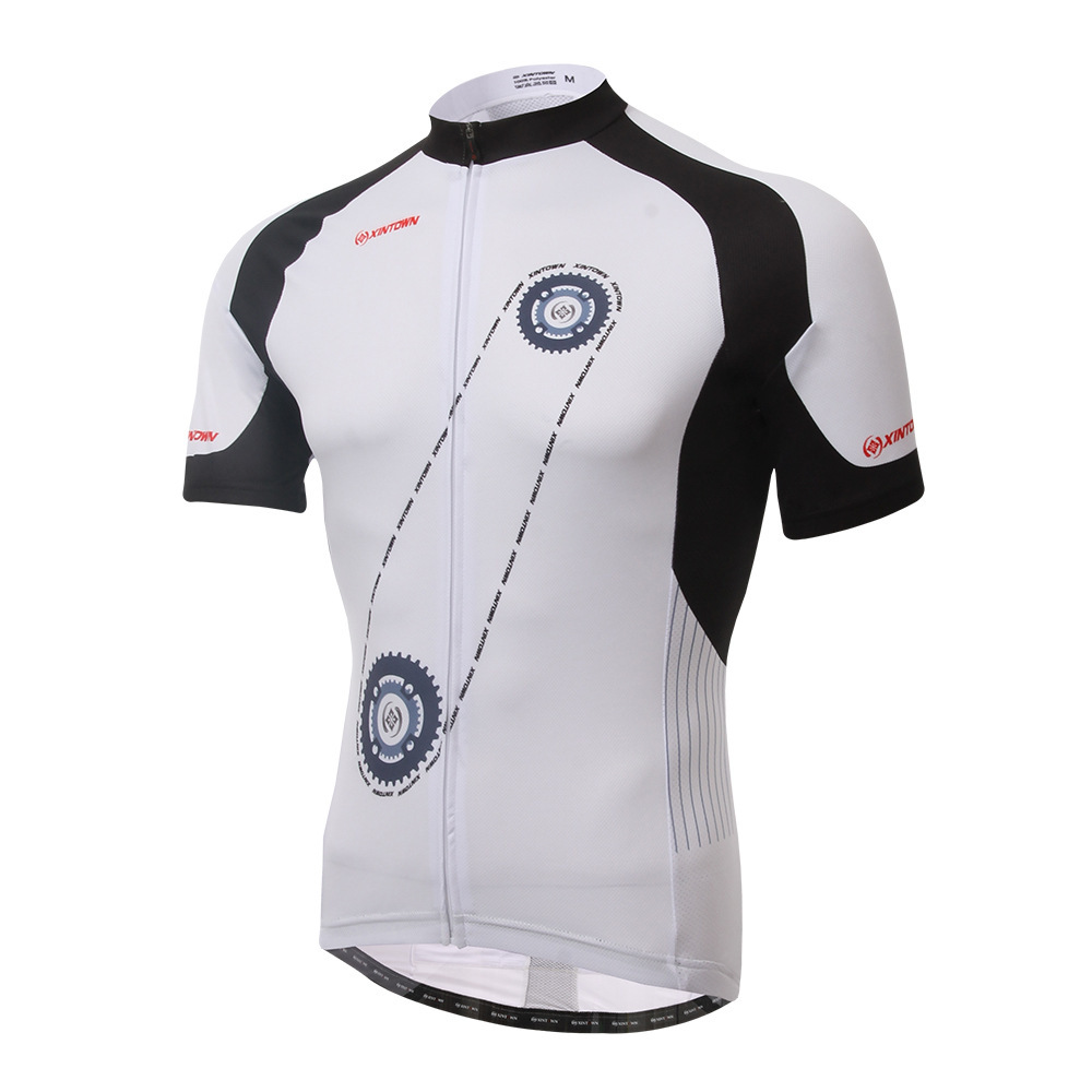 XINTOWN Tops Summer jersey Bike Short Sleeve Riding Suits Dry Clothes Cycling Tops sports compression underwear