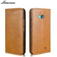 Fashion 3 Colors Magnetic Phone Case For Nokia Lumia 640 Flip Leather Cove Case For Microsoft