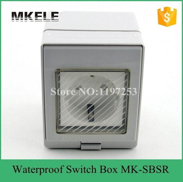 mk sbsr germany standard plastic box wall mount plastic box wall