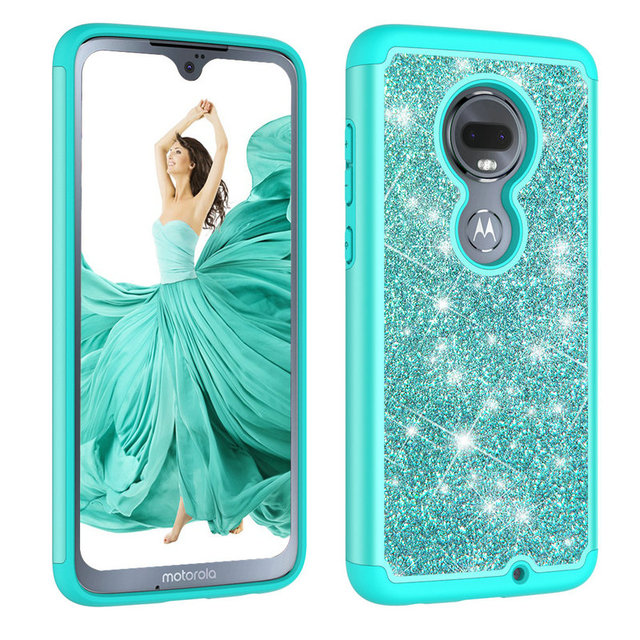 more photos aeb72 f8abc US $4.75 5% OFF Luxury Bling Phone Etui for Coque Motorola G7 Case Silicone  Plastic Back cover for Motorola Moto G7 Case G 7th Shockproof Cases-in ...