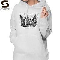 The King His Queen Hoodie Kings Hoodies Red Cotton Hoodies Women Trendy Streetwear Long Sleeve Graphic Pullover Hoodie