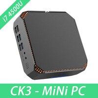 CK3 Core i7 Mini PC Windows 10 Linux Mini PC Desktop Computer HTPC Win10 With Intel Core i7 4500U 1.8GHZ WIFI2.4G&5G HDMI DP VGA