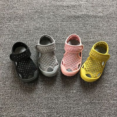 Girls Sandals New Style For Summer 2019 Korean Netted Colorful Waterproof Sandals Boys And Girls Beach Shoes 1-7 Years Old Leisure Sandals Fo