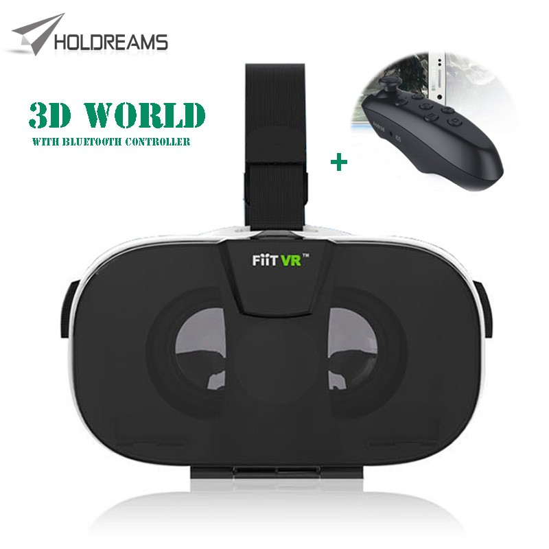 3D FIIT VR GLASSES with remote