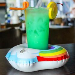 ПВХ надувные облака/единорог/Фламинго/утка чашка сиденья Бассейн напиток плавает Лето бассейна подстаканник отдых на открытом воздухе