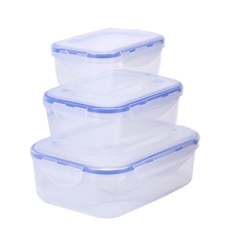 Meal Prep Heated  Food Storage Container with Snap Locking Lid  Plastic PP Mini/Small/Medium/Large Kitchen Fridge  Storage lid