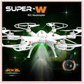 Remote Control Drone 33051 Outdoor 6CH 6-Axial Metal RC Helicopter 2.4GHz Quadcopter with Camera Gyroscope Aircraft Kid Toy Gift