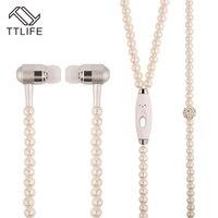 Ttlife brand super bass hifi earbuds stereo music earpiece dress earphones jewelry pearl necklace earphone for.jpg 200x200