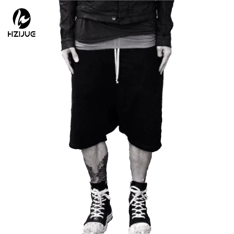 Summer Kanye Hip Hop Cool 4XL Sweatpants Urban Big And Tall Mens Clothing Jumpsuit Stage Wear Black Dress Sweat Men Harem Pants