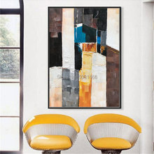 Hand painted modern abstract Oil Painting On Canvas Abstract Modern Wall Art Living Room Decor Picture