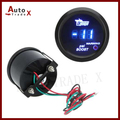 "2"" 52mm Black Car Motor Digital Blue Led Turbo Boost  Gauge Meter PSI With Sensor"