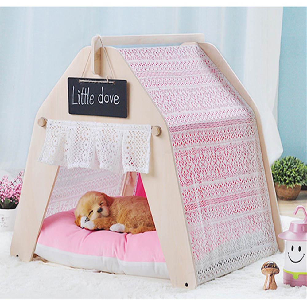 Garden Life Pet Bed Cat Bed Dog Bed Pet Tent Teepee Tent Pet Play House High Quality