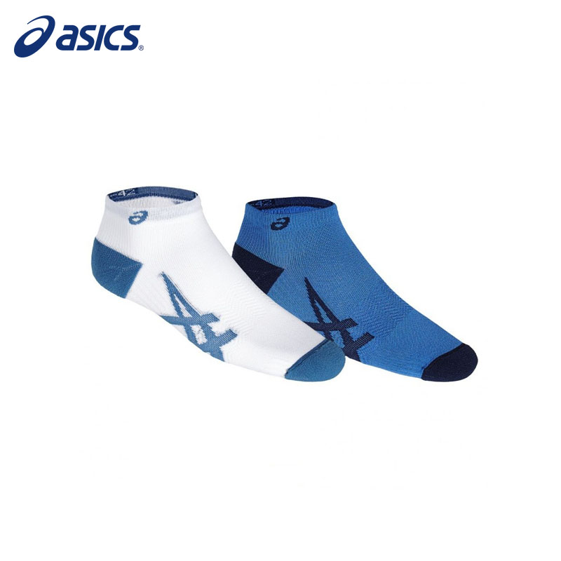 Socks ASICS 130888-0819 sports accessories unisex adibo a 13 sports cotton socks for men white 6 pairs