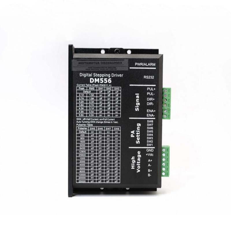 Stepper Motor Controller DM556 2 phase Digital Stepper Motor Driver 24 50 VDC 2.1A to 5.6A for NEMA23 NEMA34 motor