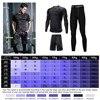 3 Pcs Men Sports Suit Set 5