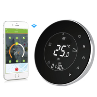 BHT 6000 GBLW LCD Touch Screen Electric Underfloor Heating Thermostat Backlight WIFI 16A Weekly Programmable