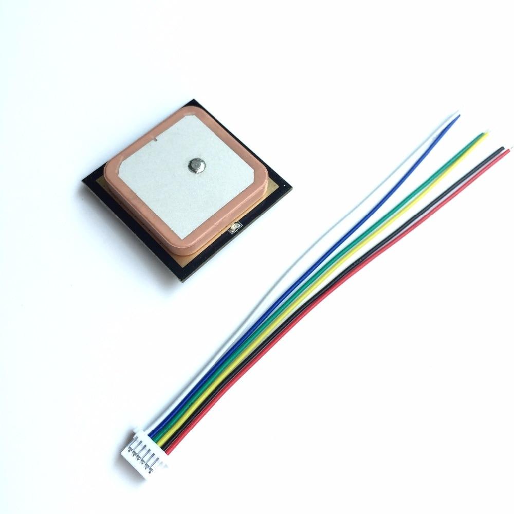 Smart GPS module Arduino gnss antenna UART TTL dual GLONASS receiver integrated FLASH, NMEA settings save uart ttl level gps module arduino ublox 7020 neo 7m c gnss chip gps module antenna promotional built in flash high quality