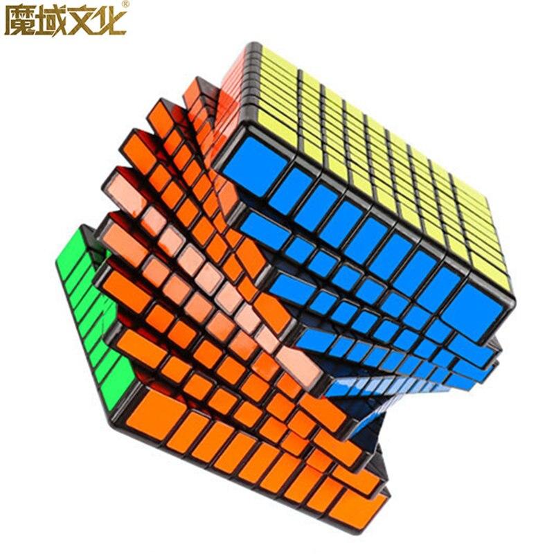 MF9 CUBE 9x9x9 cube de vitesse magique MOYU 9 Couches sans autocollant puzzles cubes éducatifs professionnels moyu cubo magico jouets