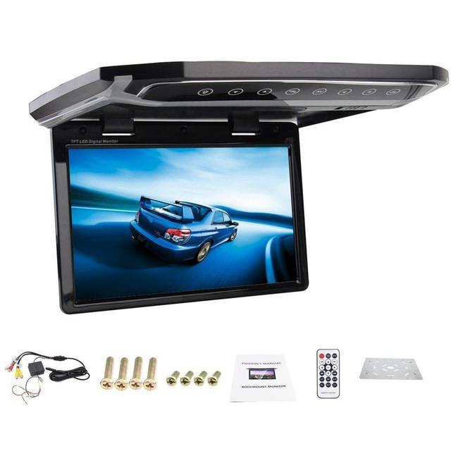 New 12 1 Inch Usb Sd Hdmi Fm Car 1080p Car Roof Mount