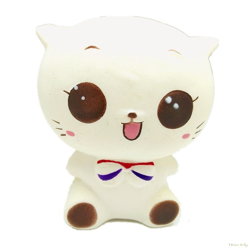 2018 Funny Jumbo Squishy Princess Cat Squishy Cat Slow Rising Stress Relieves Scented Gift  Sep19_17
