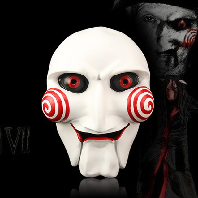 High Quality Resin Grimace Saw Mask Party Masquerade Cosplay Movie ...