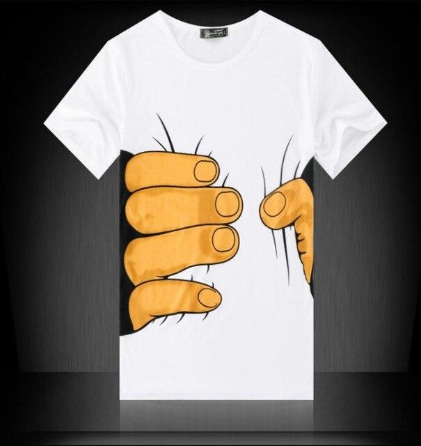 Men's Tshirt Summer Short...