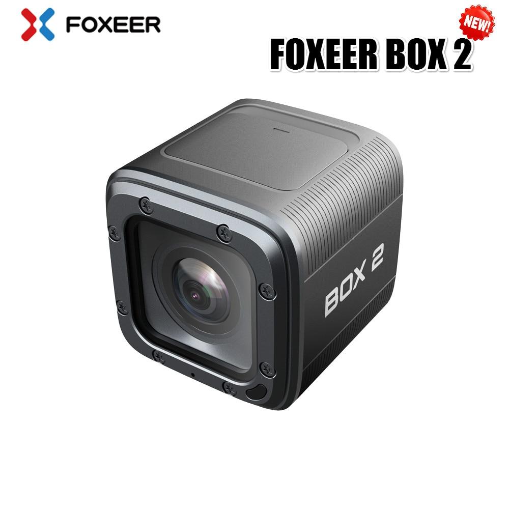 재고 있음 Foxeer 상자 2 4 K HD 액션 FPV 카메라 SuperVison 1080 P 155 학위 방수 Wifi 스포츠 카메라 45 분 완전 충전-에서부품 & 액세서리부터 완구 & 취미 의  그룹 1