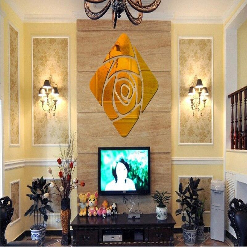 Aliexpress.com: Compre Diy rosa decoração sala de estar decoração ...