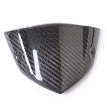 for Kawasaki Motorcycle Z1000 Carbon Fiber Meter Shell Small Windbreak Windshield