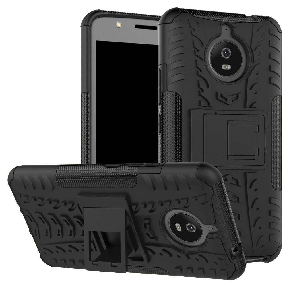 Case For Motorola MOTO E4 E5 Plus Play X4 PC + Silicone Anti Shock Impact Rugged