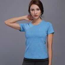 Running Sports T Shirt font b Women b font Fitness Yoga font b Clothes b font