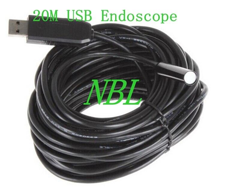 Offen Mini 2mp Pal Pinhole Usb Endoskop 6 Endoskope Messung Und Analyse Instrumente Led 1/6 Vga Cmos 1600*1200 Hd Wasserdichte 20 Mt 9mm Draht Endoskop Videokamera