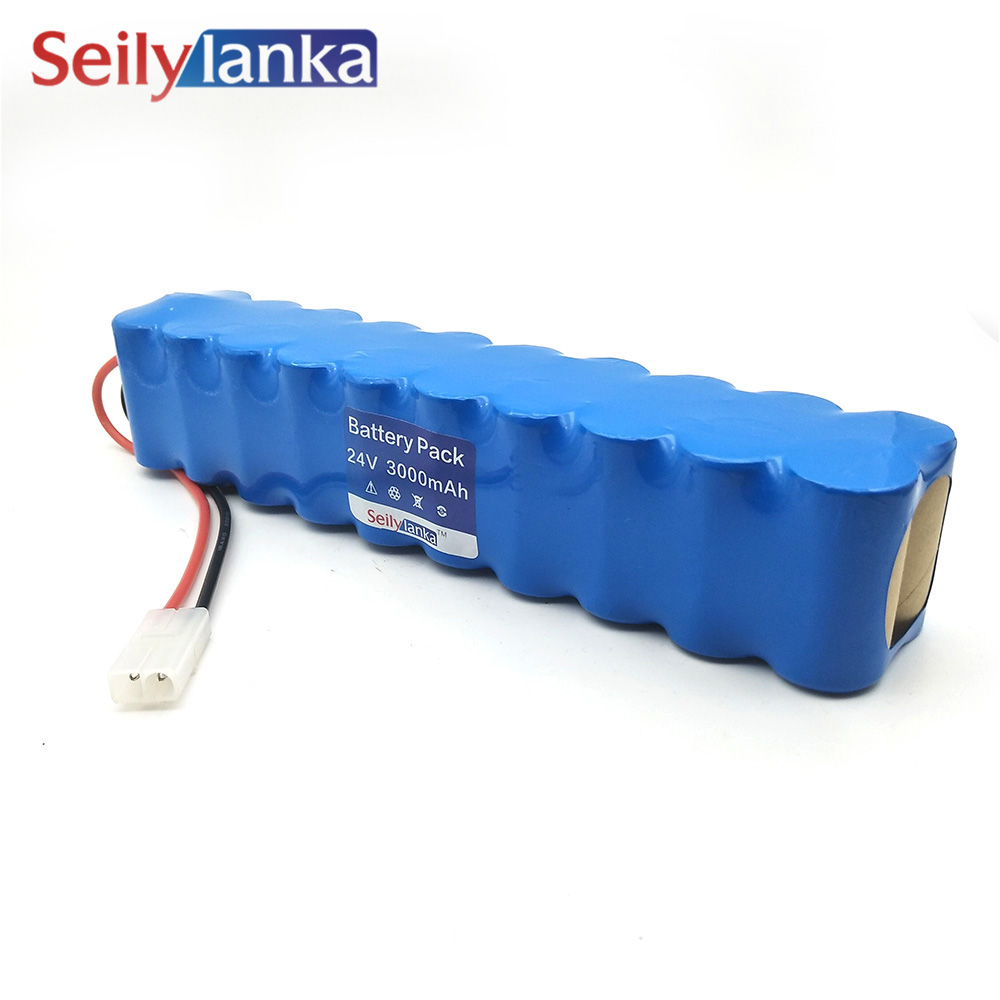 3000mAh for Rowenta 24V Ni MH Battery pack CD vacuum cleaner Besen air force Extreme RH8770