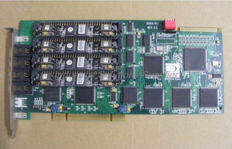 D081A-PCI REV:2.3 DONJIN-DN081A4F Voice Card With Module 100% tested perfect