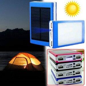 Image 1 - Dual USB LED PCBA Printplaat Solar Power Panel Home DIY Zonnepaneel Bank 18650 Batterij DIY Thuis Draagbare Oplader