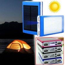Dual USB LED Placa de Circuito impresso do Painel De Energia Solar Para Casa DIY Painel Solar Banco 18650 Carregador de Bateria DIY Casa Portátil