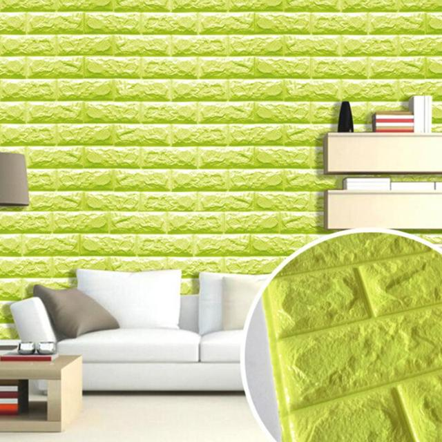 3d brick wallpaper waterproof self adhesive wall sticker panels