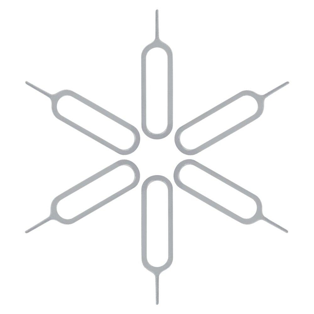 50 יח'\חבילה ה-sim כרטיס כלי מחט פותחן מפליט כרטיס ה-sim מגש הוצא פין כלי פתוח הוצא פין עבור iPhone