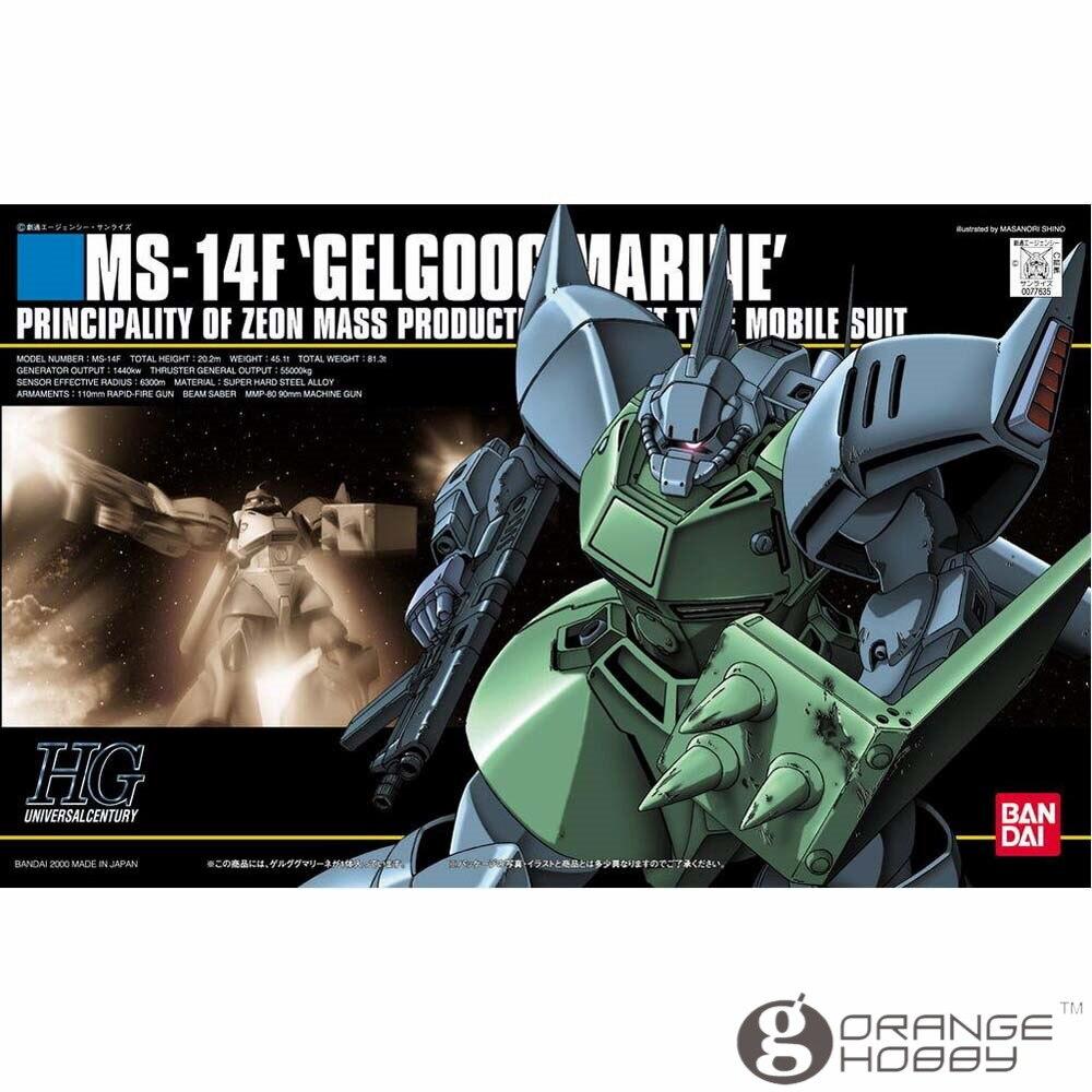 339defefb1dd ᗔSST Bandai HGUC 016 1 144 MS-14F Gelgoog Marine Mobile Suit Modèle ...