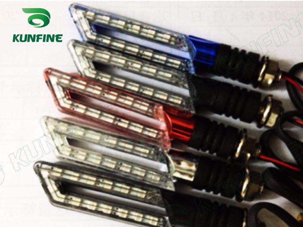 Universal 4 pcs Motorcycle Turn Signals 15 SMD Turn Signal Indicators Blinker Amber Light Bulb Lamp Flasher Lighting