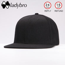 Ladybro 2019 Solid Hip Hop Hat Women Men Hat Cap Black Pink Cap Male Female Snapback Hat Street Bone Brand Baseball Cap Unisex