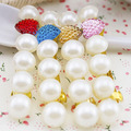Han edition hair Pearl hearts hair clips Love hairpin headdress
